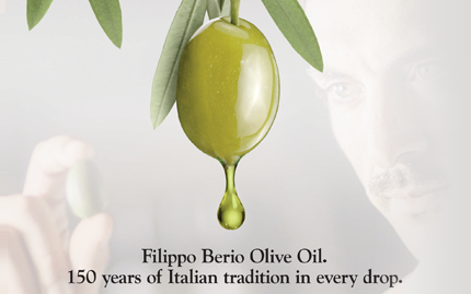 filippo berio advertising